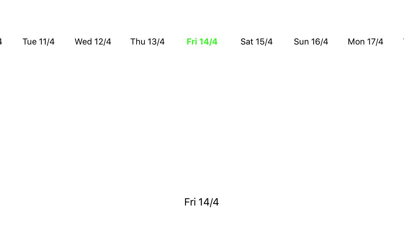 Tutorial - Calendar and Date Picker