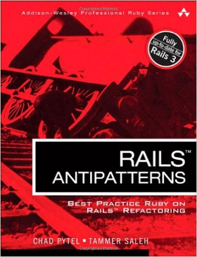 RoR Books - Rails Antipatterns - Prograils Blog
