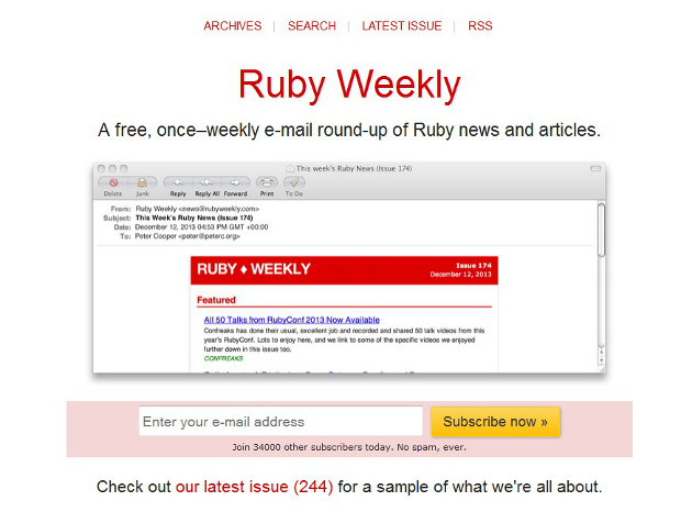 Ruby learning resources