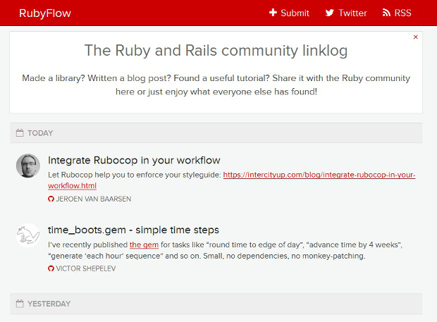 Ruby resources
